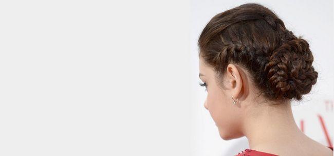 50 Penteados para complementar a sua Saree Photo