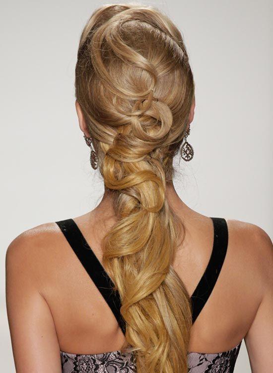 Longo textura-de-cavalo-com-Twisted-e-Fixado-Hair