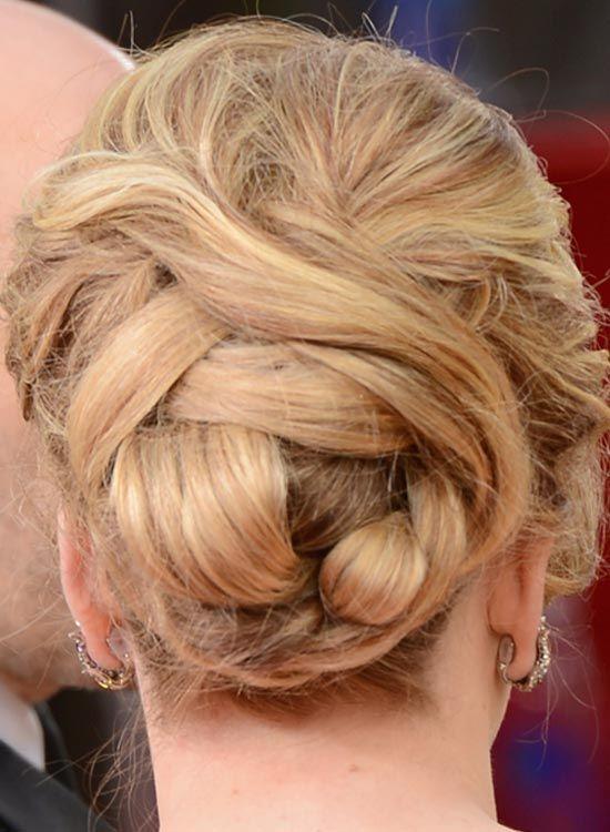 -Semi-alta Bun-Envolvido-com-Twisted-cabelo