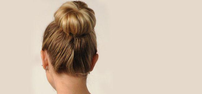 50 Adorável Bun penteados para cabelos longos Photo