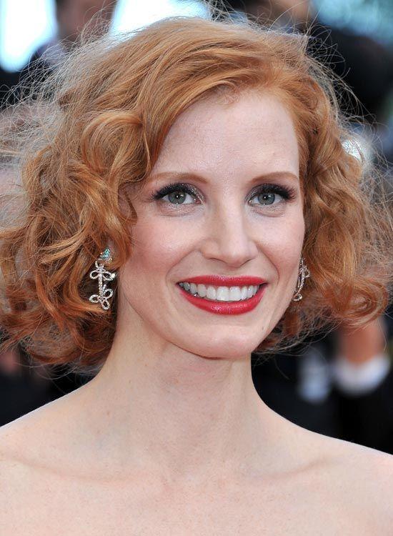 Curly-avermelhado-Blonde-Bob-com-frizzes