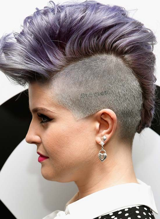 High, -Wavy-e-Luz-Purple-Mohawk