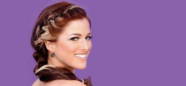 50 penteados de noiva simples para cabelos cacheados Photo