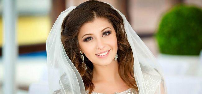 50 Veil penteados de noiva para o seu dia do casamento Photo