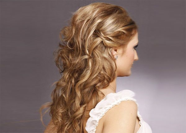 Penteado ondulado