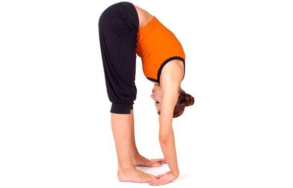 Standing frente Bend Pose