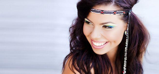 6 Idéias Maquiagem final Boho Chic Photo