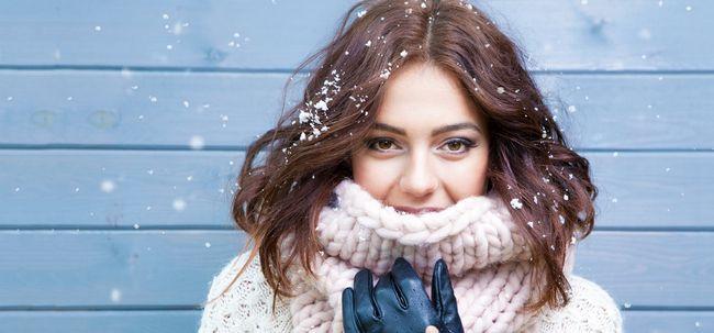 6 Problemas de cabelo Inverno E como repará-los Photo