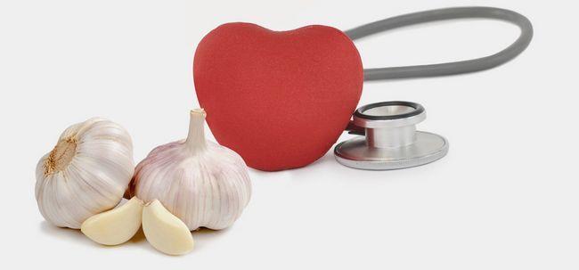 7 maneiras de alho vai ajudar a reduzir os níveis de colesterol Photo