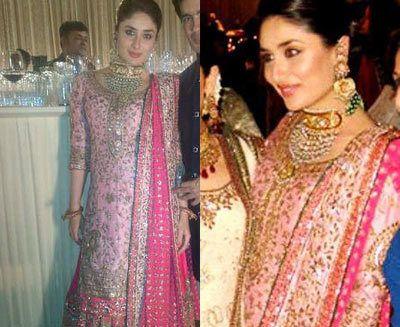 Kareena Kapoor roupa walima
