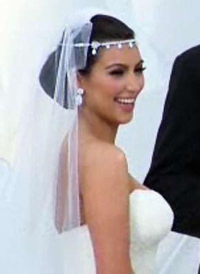 Kim Kardashians dia do casamento