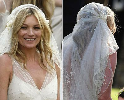 vestido de noiva Kate Moss