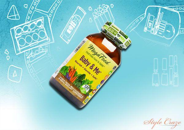 megafood bebê and me vitaminas pré-natais 120 comprimidos