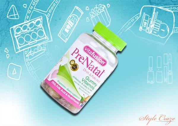 vitafusion vitaminas pré-natais de goma