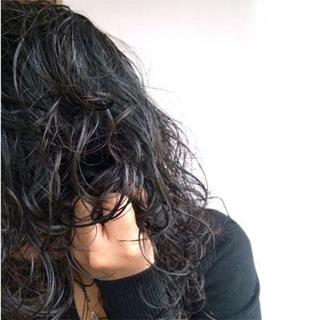cabelo scrunch três