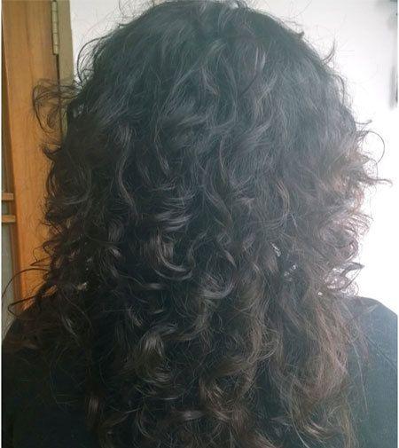 cabelo scrunch cinco