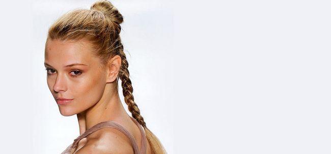 8 elegante e moderno longo Penteados para meninas de escola Photo