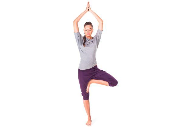 pose da árvore benefícios da ioga