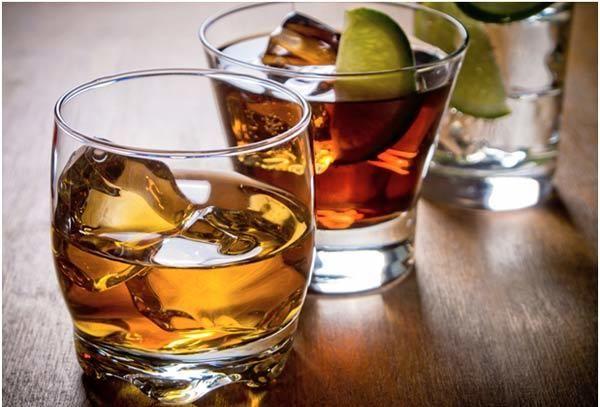 Álcool e açúcar dieta