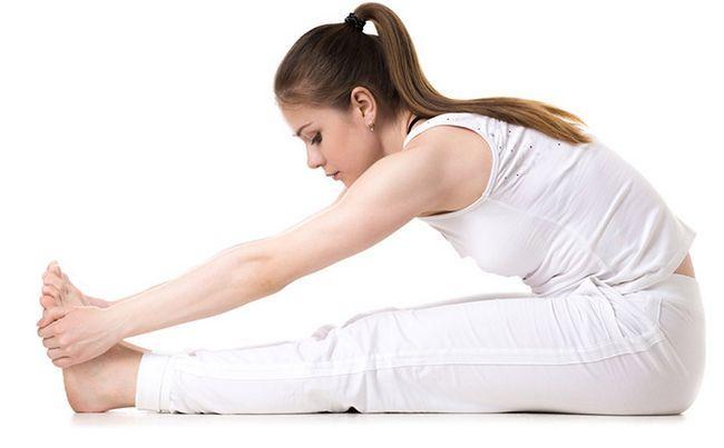 Paschimottanasana Pose da ioga