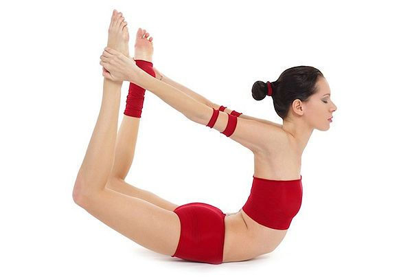 Dhanurasana para a ioga