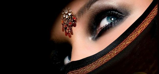 Secrets beleza das mulheres das terras árabes! Photo