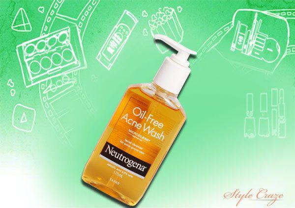 lavagem acne livre de óleo Neutrogena