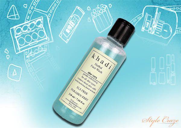 lavagem vera rosto herbal aloe