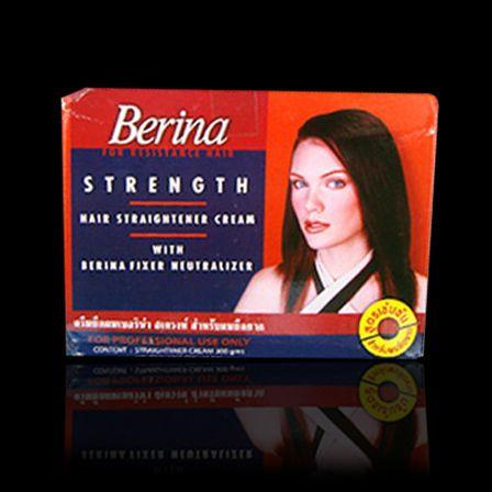 Berina Straightener creme extra para transformar seu olhar