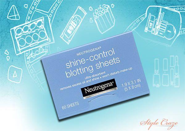 Neutrogena Shine-Controle blotting folhas