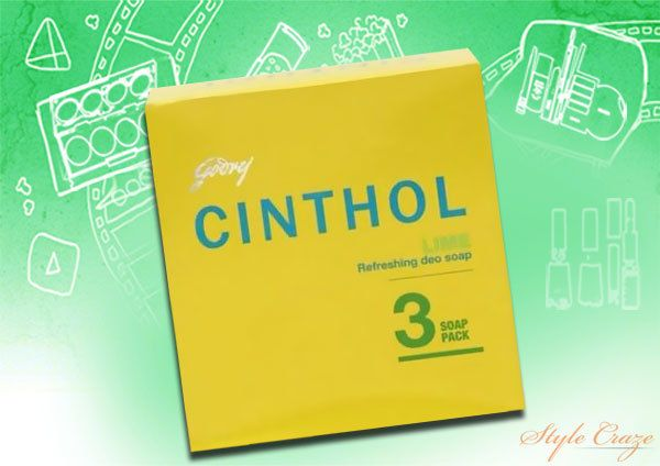 Cinthol Lime pacote