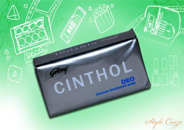 Cinthol Deo sabonete desodorante Intense