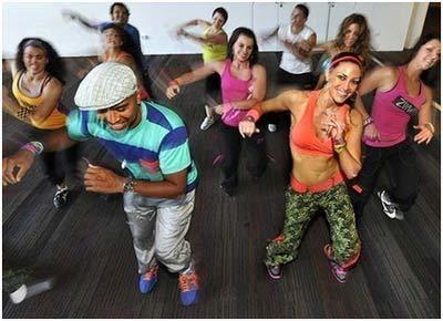 exercício dança zumba