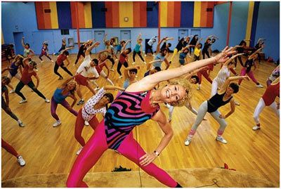 exercícios jazzercise