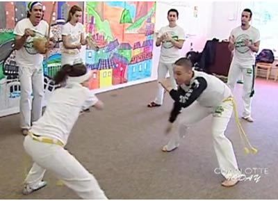 exercícios de capoeira