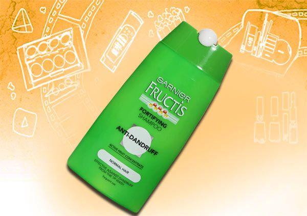 Fructis Garnier fortalecendo shampoo anti-caspa