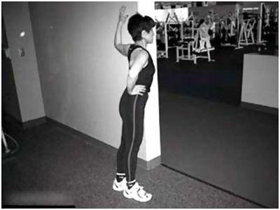 exercícios de alongamento pec