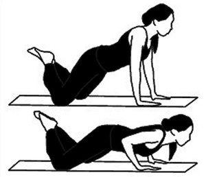 exercício flexões