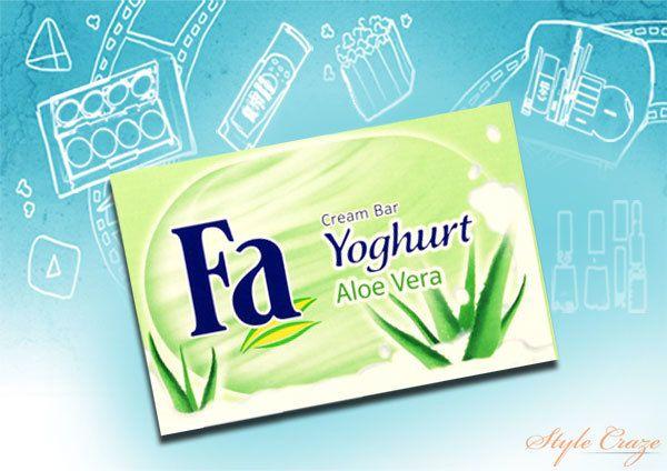 Sabão Fa Iogurte Aloe Vera Bar