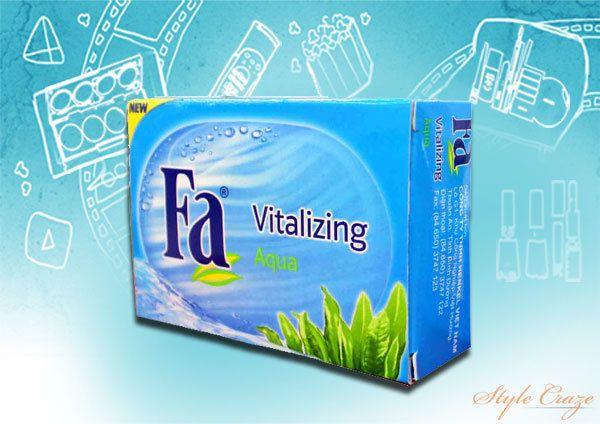Sabão Fa do Aqua Vitalizing Bar