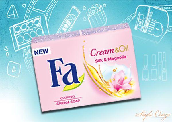 Fa Cream & Oil Silk & Magnolia Bar Soap