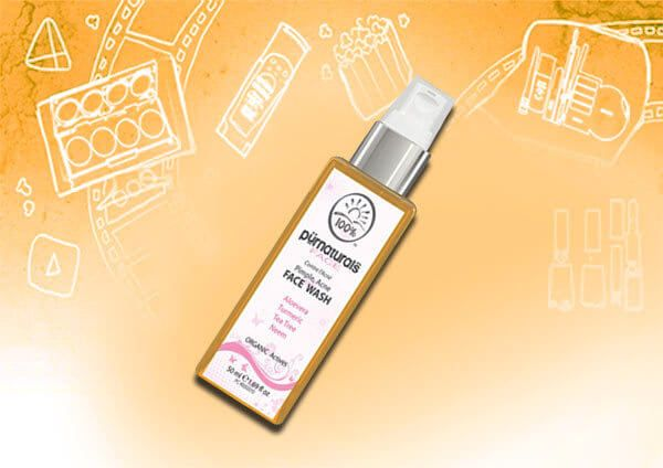 lavagens da cara para a pele seca