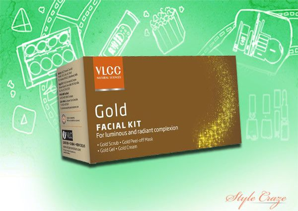 VLCC kit facial do ouro