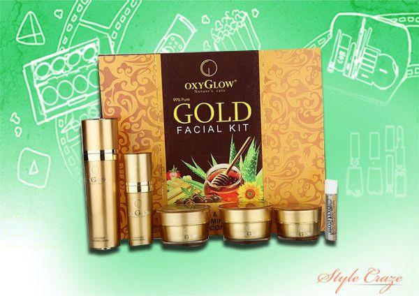 oxi brilhar kit facial do ouro