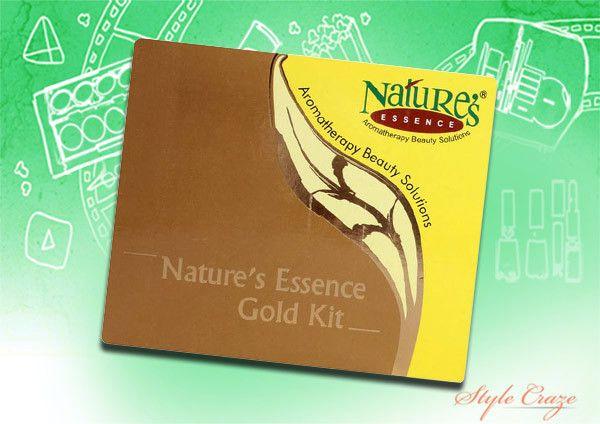 natureza's essence gold facial kit