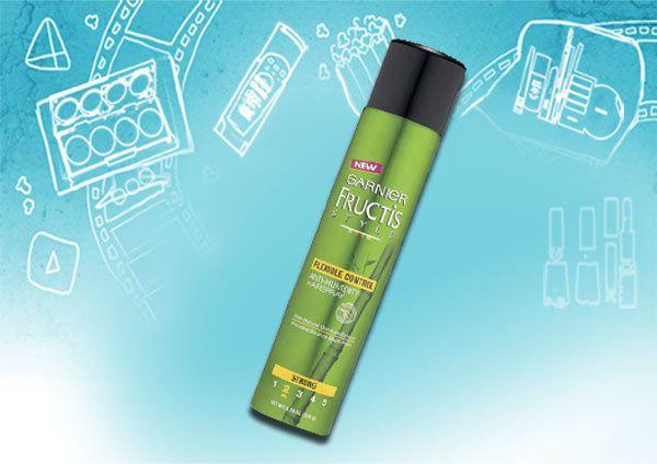 Garnier Fructis estilo volumizing spray de cabelo anti-humidade