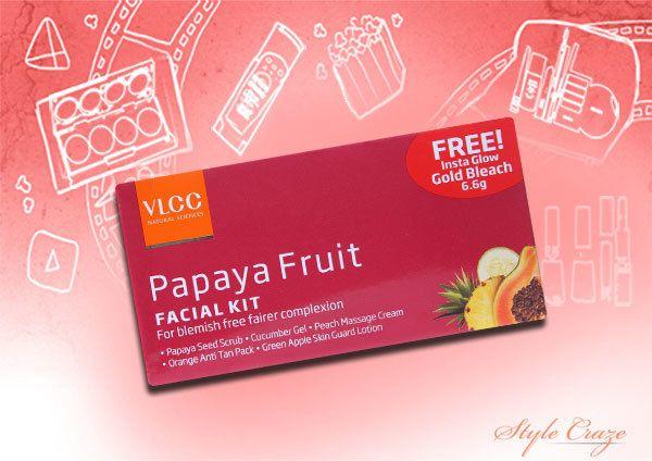 VLCC Papaya Fruit Kit Facial