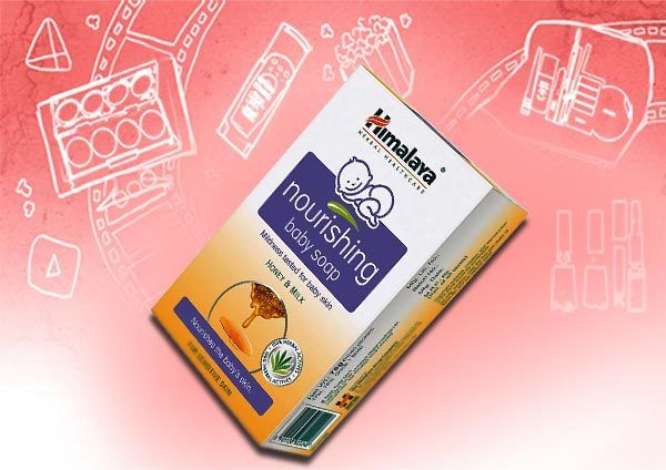 sabão do bebê himalaya nutritiva