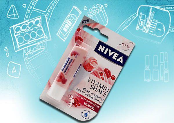 Nivea cranberry vitamina trepidação e framboesa