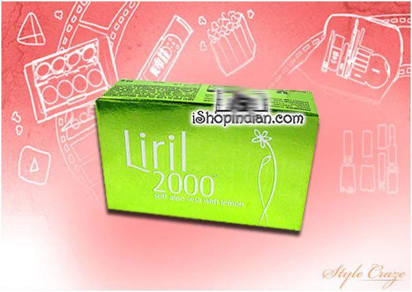 Liril Soap Vera suave Aloe 2000